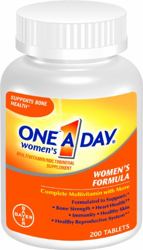 One-A-Day Women's Multivitamin, 200-Count Bottles (Pack of 2), Health Care Stuffs