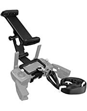 Powerextra 4-12 Inch Adjustable Extender Tablet Holder Mount with Neck Lanyard Strap Compatible with DJI Mavic 2 Pro/Zoom, DJI Spark/Mavic Pro/Mavic Air Remote Control