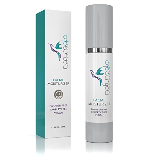 SALE! Organic Facial Moisturizer With Collagen & Hyaluronic Acid For Sensitive, Dry, Oily Skin - Natural Anti Aging Cream