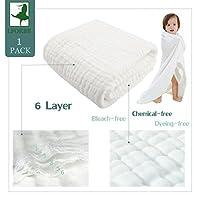 Muslin Bath Towel for Baby - Bath Towel for Baby 100% Organic Cotton High hyg...