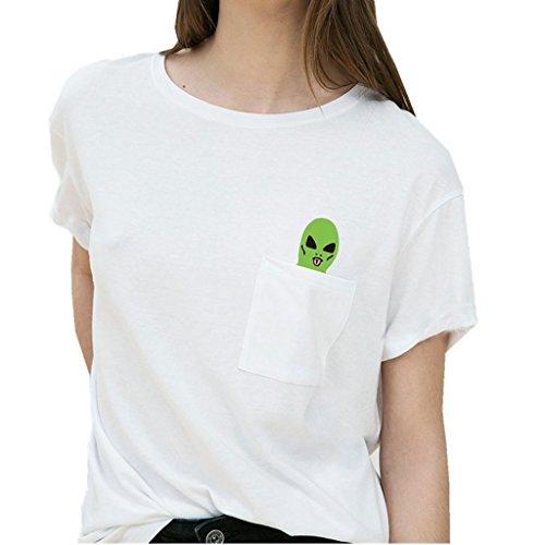 Pocket Raglan T Shirts Gothic Cotton product image