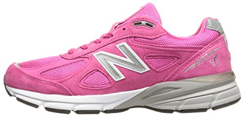 New Balance Men's M990KM4 Running Shoes, Komen Pink, 9.5 D US