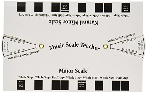 Publishing Scales - Alfred's Music Scale Teacher: All-In-One Flashcard (White)