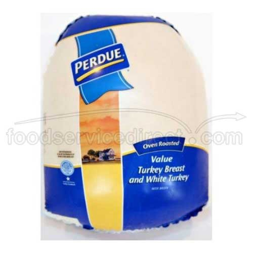 Perdue Farms Skinless Oven Roasted Turkey Breast with White Meat, 10 Pound -- 2 per case. by Perdue Farms