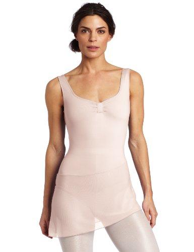 - Danskin Women's Dance Dress with Mesh Skirt, Theatrical Pink, Medium