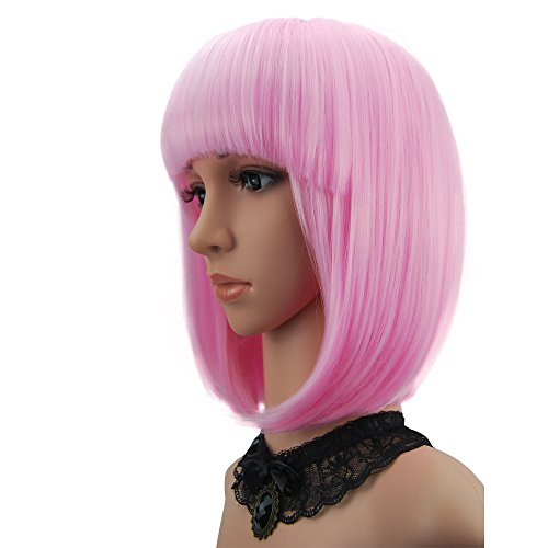 eNilecor Short Bob Hair Wigs 12