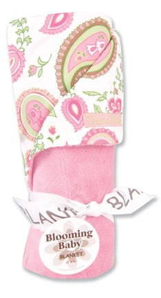 Paisley Park Velour Receiving Blankets (Available (Trend Lab Velour Blanket)