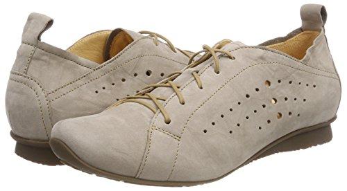 para Macchiato 24 282113 Cordones Beige Chilli Brogue Mujer de Think Zapatos ABYnqnz