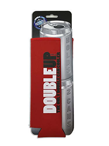 Cheapest Prices! Double Can Cooler (Red)