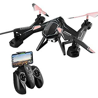 TOYEN Mini Drone with 720P Camera, Headless Mode RC Drone for Beginners, WiFi Transmission RC Quadcopter, FPV Drone with Altitude Hold, 3D Flips Remote Control Drone, Drone with APP Control for Kids a