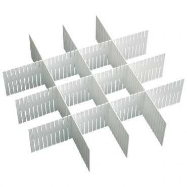 - Duroetui Adjustable Plastic Drawer Closet Grid Divider Tidy Organizer Container Home Storage (45cm X 7cm ( 18