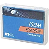 Dell DAT 4mm 20 GB Native / 40 GB Compressed 150m DDS4 Backup Tape Media