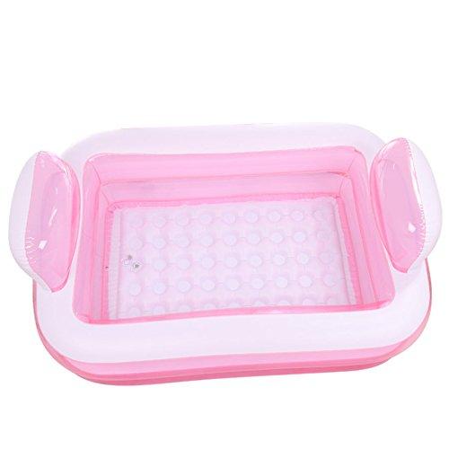 Pink LY-YL008 Bathtub Inflatable PVC, Foldable Bathtub Thicken Adult Bathtub bath Plastic (color   bluee)