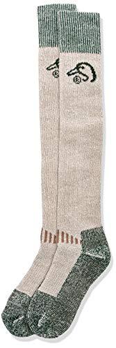 Ducks Unlimited Men's Wool Blend Wader Socks, Tan, Large ()
