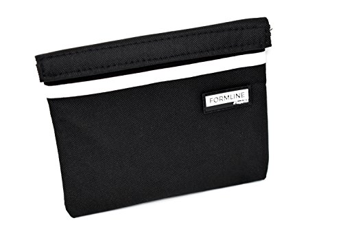 Formline Smell Proof Bag (7x6) - Premium Odor Proof Pouch with Mesh Divider - Eliminate Scents w/this Discreet Stash Container for Tobacco, Herb Grinders, Pax Vaporizers, Rolling Papers & Accessories (Bags Lock Scent)