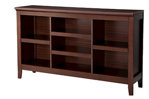 Carson Horizontal Bookcase in Chestnut (Pottery Barn Entertainment Centers)