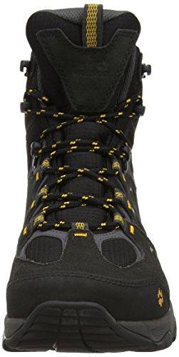 Jack Wolfskin MOUNTAIN ATTACK TEXAPORE 5 MID trekking zapatos hombres burly yellow