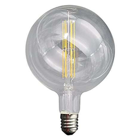Laes 986501 Bombilla Globe Filamento LED E40, 12 W, 200 x 290 mm: Amazon.es: Iluminación