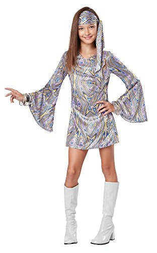 California Costumes Disco Darling Costume, One Color, 10-12 -