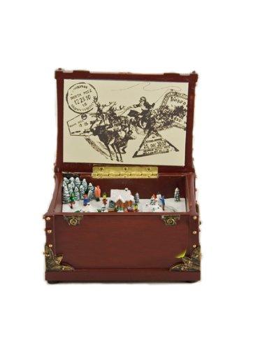 【最安値挑戦!】 Music box World 53012 インテリア オルゴール クリスマス インテリア box Music Kingdom box Kingdom 並行輸入 B00GX2JWYE, 浜納豆本舗:2e184b01 --- arcego.dominiotemporario.com
