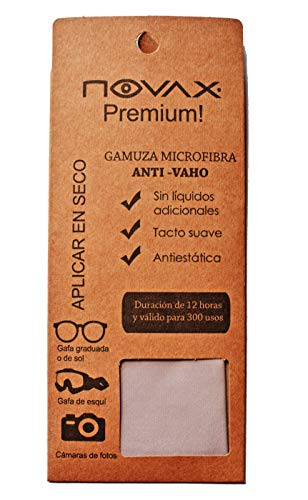 NOVAX GAMUZA MICROFIBRA ANTI-VAHO premium - 12HORAS DE EFECTO 2