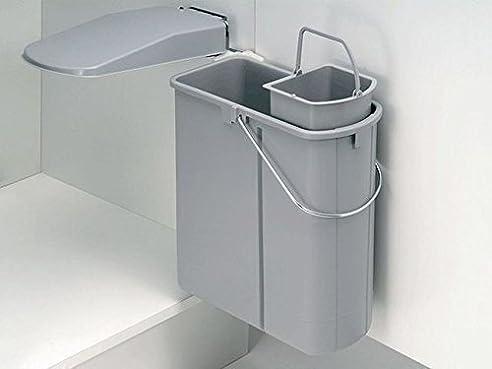 wesco abfalleimer Öko 45 2 küchen mülleimer abfallsammler
