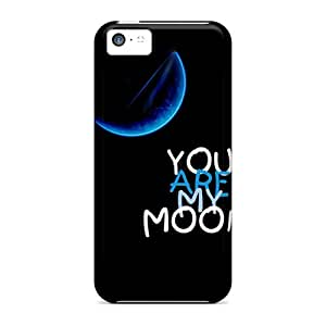 BrianWesley Iphone 5c Hybrid Tpu Case Cover Silicon Bumper My Moon