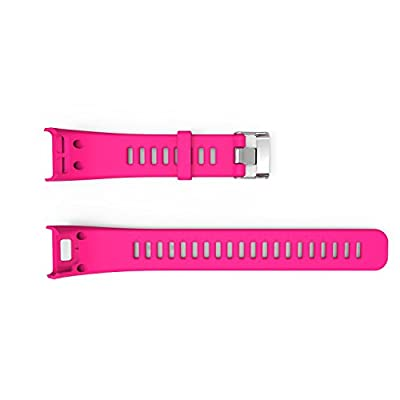 I-SMILE Garmin Vivosmart HR Bands, Replacement Bands for Gramin Vivosmart HR, Pin Removal Tools include(No Tracker, Replacement Bands Only) (Rose)