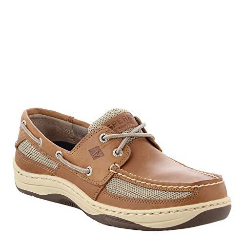 SPERRY Men's, Tarpon 2-Eye Boat Shoe Dark TAN 9.5 W by Sperry Top-Sider