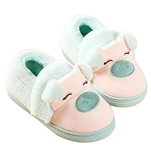 fa545121038 free shipping Blubi Women s Winter Piggy Skid-proof Closed Toe House Shoes  Ladies Slippers Cute