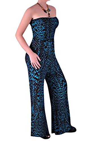 Monica Jumpsuit Palazzo Trouser Fusion Print Medium / Large