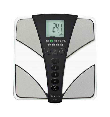 (Tanita BC585F FitScan Full Body Composition Scale Metal)