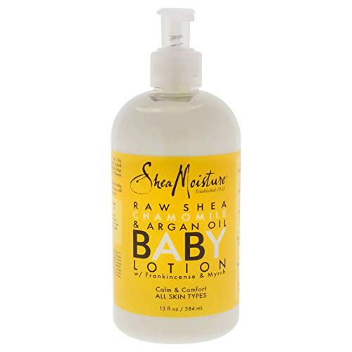 Shea Moisture Raw Shea Chamomile & Argan Oil Baby Lotion 13 oz