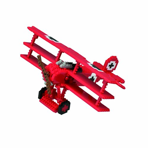 Triplane Baron Red (Nanoblock Red Baron Tri-Plane Kit)