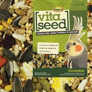 HIGGINS 466155 Vita Seed Cockatiel Food for Birds, 25-Pound by Higgins