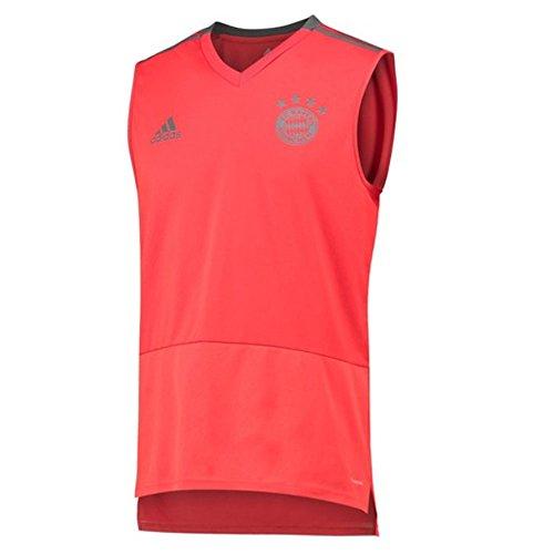 adidas 2018-2019 Bayern Munich Sleeveless Shirt (Red) - Sleeveless Soccer Jersey