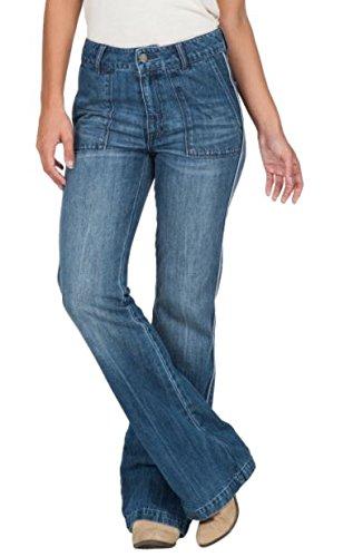 Volcom Womens Wide Leg Flare Jeans (0/24) Volcom Ladies Jeans