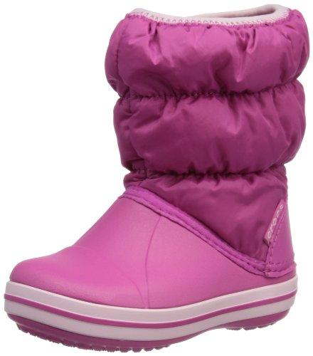 crocs 14613 Winter PF BT K Boot (Toddler/Little Kid),Fuchsia/Bubblegum,2 M US Little Kid by Crocs