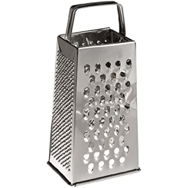 Adcraft GS-25 9  Height, Stainless Steel 4-Sided Grater