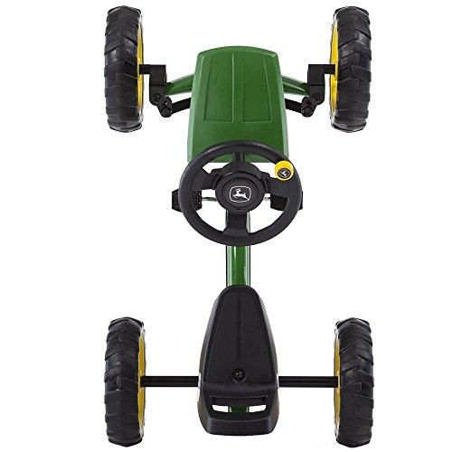 BERG Toys Mountain 24.30.11.00–Buzzy John Deere Go-Kart Ride-On by BERG Toys (Image #1)