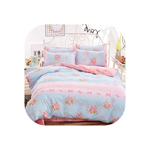 Bedding Sets Cotton Set Reactive Printing Hot Sale Comforter Bed Set Queen Full Size 4 Pcs,As11,King