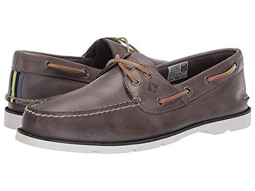 - Sperry Top-Sider Leeward Nautical Cross Lace Boat Shoe Men 11 Grey