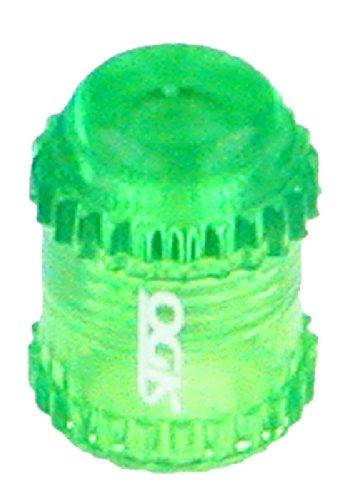 OGK バルブキャップ 米式バルブ用 クリアグリーン