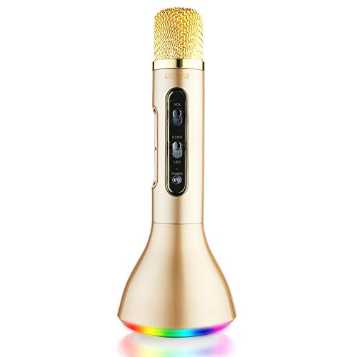 Why Choose VERKB Rainbow Mic, Wireless Microphone Karaoke(3rd Generation), 3-in-1 Bluetooth Karaoke ...