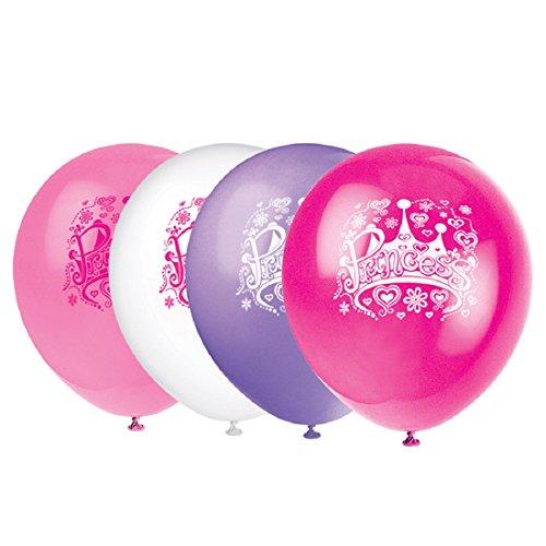 Latex Diva Princess Balloons 8ct