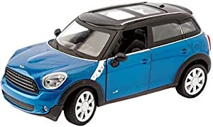 MZ mini cooper iron car- blue, 26045