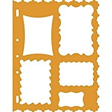 "Shape Template 8.5""X11"", Frames"
