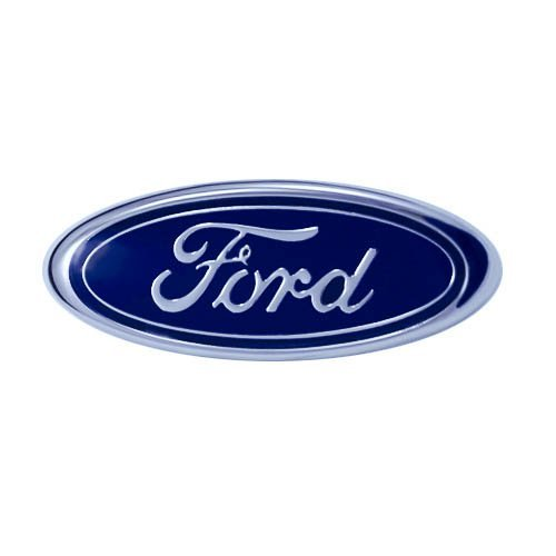 - 1982-1997 Genuine Ford Oval Front Bumper Emblem for Mustang Escort Crown Victoria