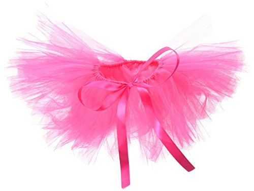 Picture of PAWPATU Tulle Tutu for Dogs or Cats, Large, Hot Pink