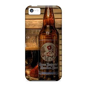 Durable Cases For The Iphone 5c- Eco-friendly Retail Packaging(dark Beer)